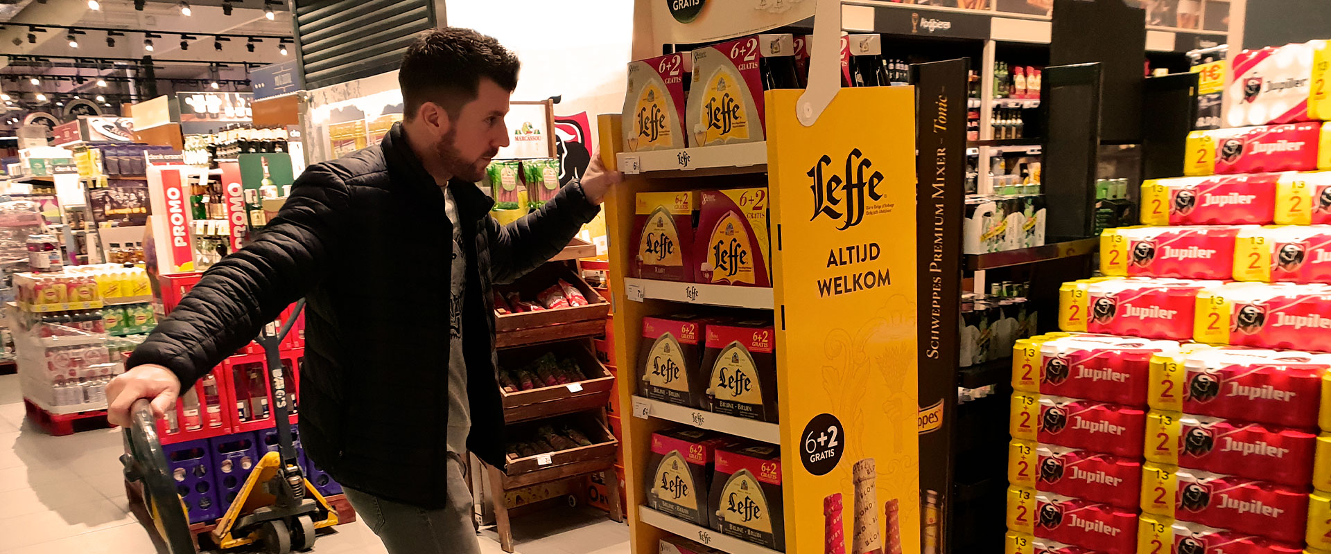 impact sales Belgium